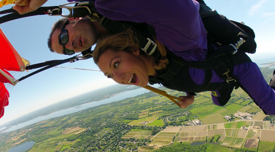 When Colbie Caillat Skydived With Us