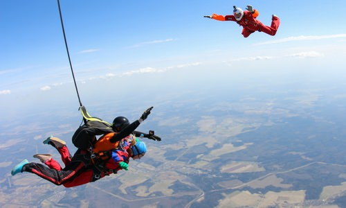 When Can I Skydive By Myself