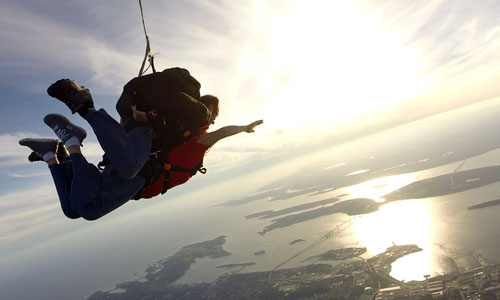 Why Choose Skydive Newport?